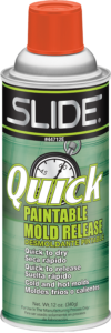 44712E - Quick Paintable Release Aerosol (16 ounce aerosol, 12 per cs)